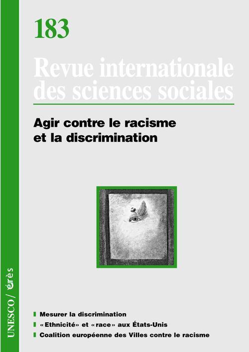RISS T.183 ; agir contre le racisme et la discrimination