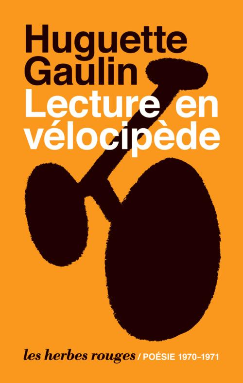 Lecture en vélocipède ; 1970-1971