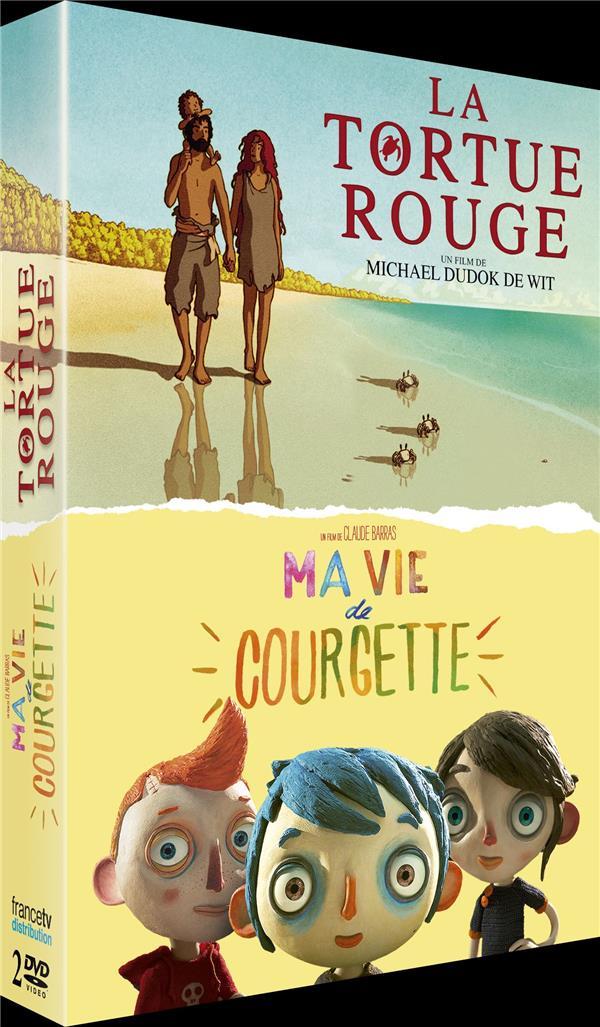 La Tortue Rouge + Ma vie de Courgette