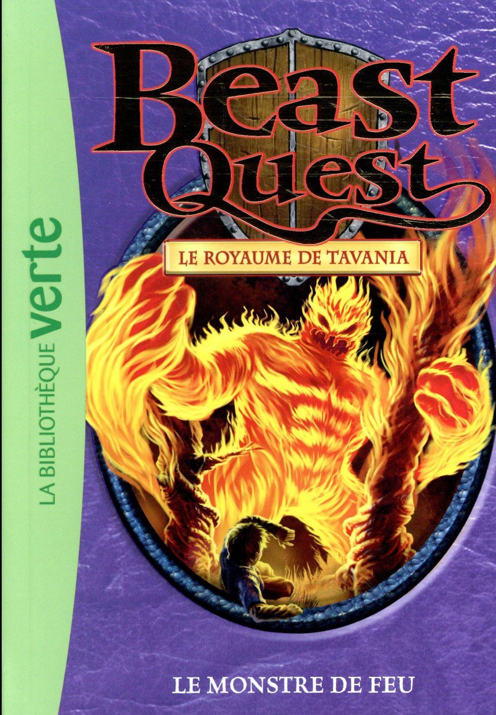 Beast Quest T.42 ; le monstre de feu