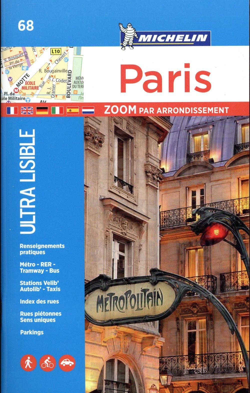 Paris ; zoom par arrondissement ; 68 (édition 2017)
