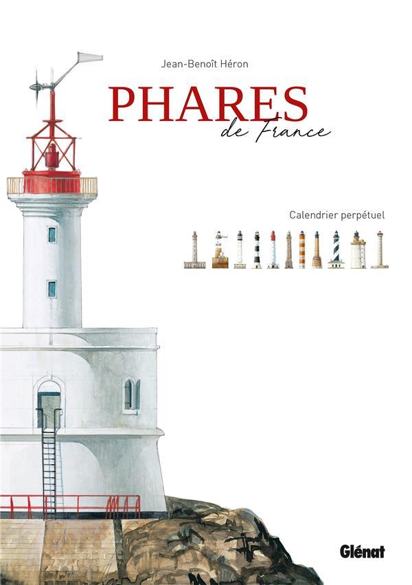 Phares de France ; calendrier perpetuel