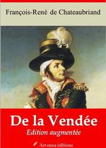 Vente Livre Numérique : De la Vendée - suivi d'annexes  - François-René de Chateaubriand