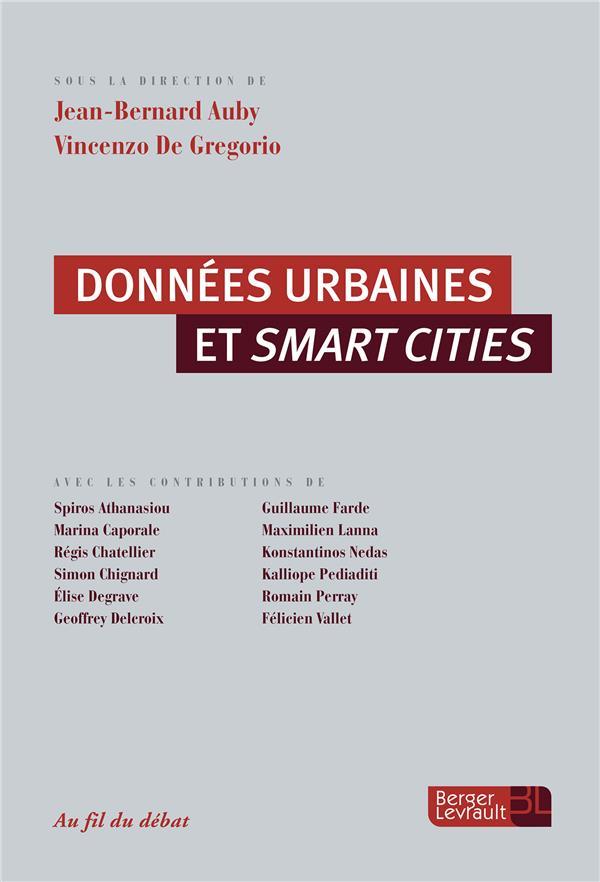 Données urbaines et smart cities
