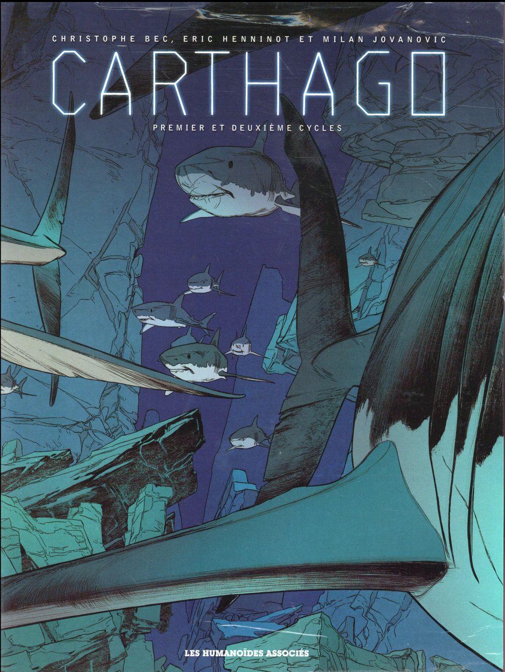 Carthago ; coffret t.1 à t.5 ; premier et deuxième cycles