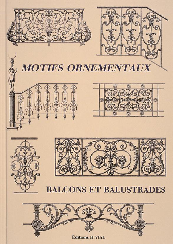 Motifs Ornementaux ; Balcons Et Balustrades