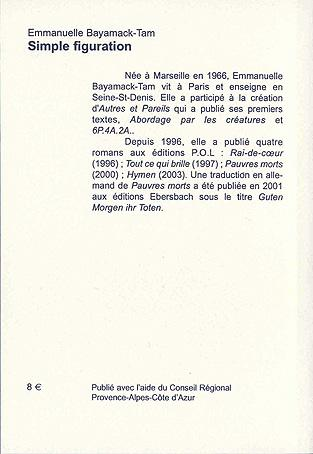 Autres & pareils, la revue t.13; simple figuration