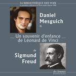 Vente AudioBook : Un souvenir d'enfance de Léonard de Vinci  - Sigmund Freud