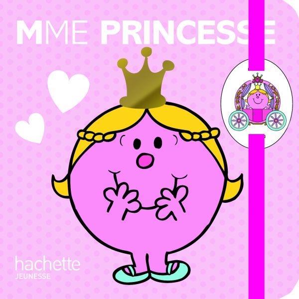 Carnet A Elastique Avec Poupee Mme Princesse