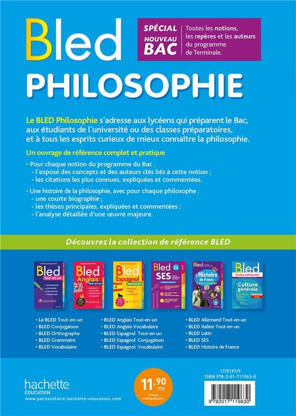 BLED ; philosophie