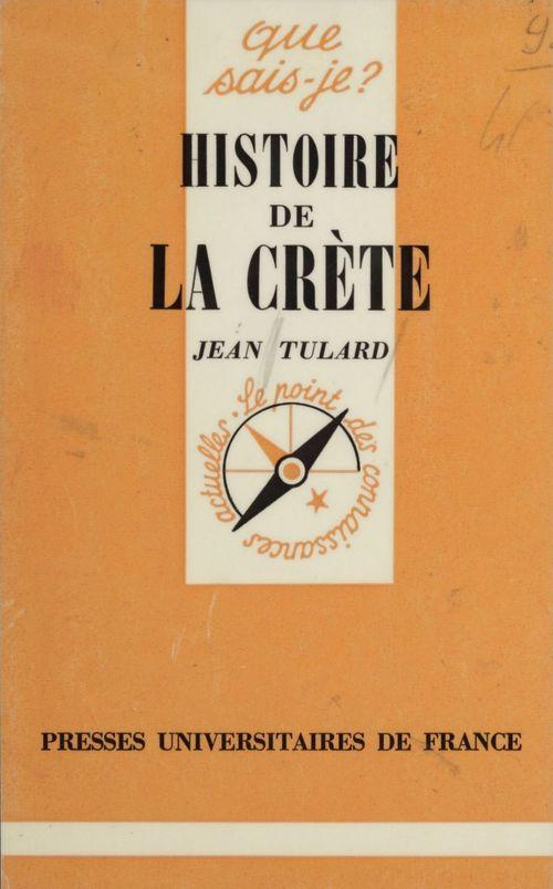 Histoire de la crete qsj 1018