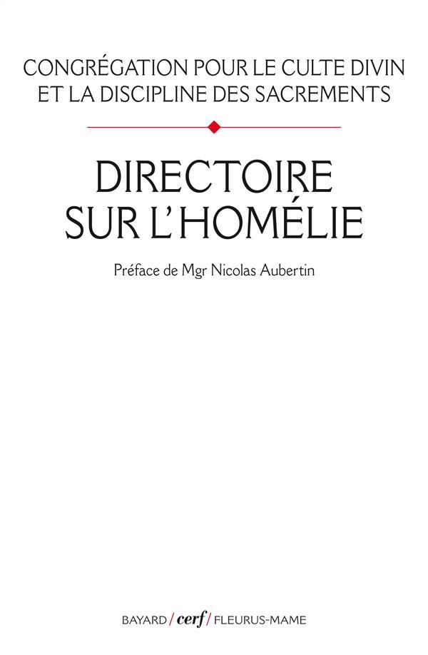 DIRECTOIRE SUR L'HOMELIE