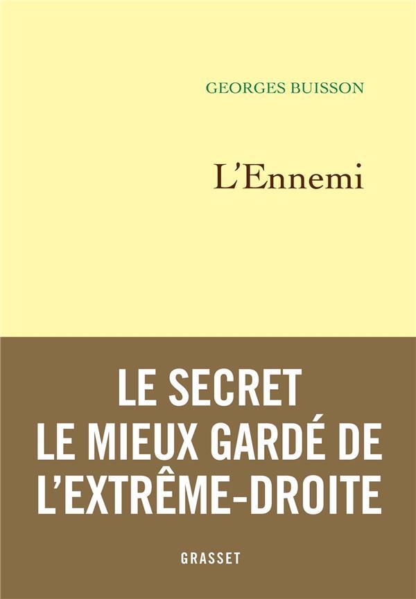BUISSON, GEORGES - L'ENNEMI