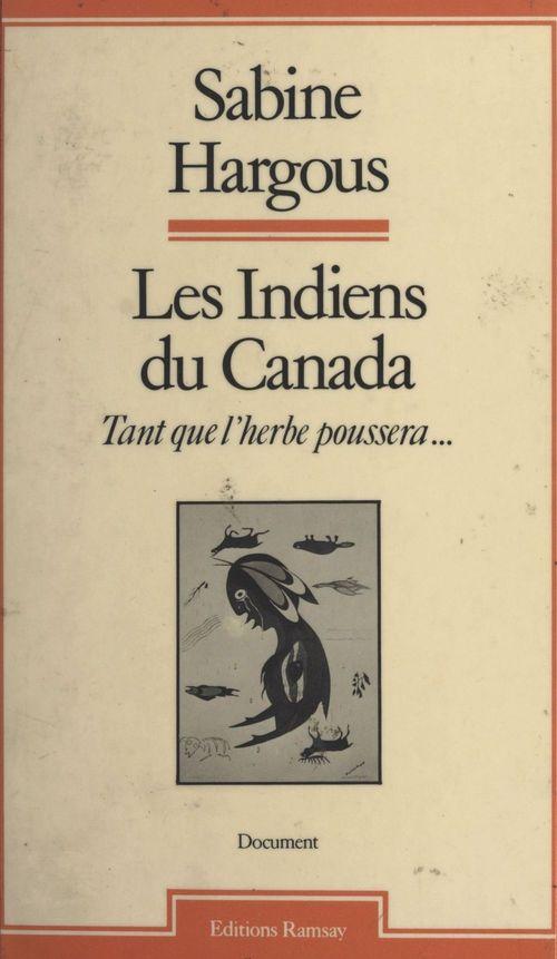Les indiens du canada