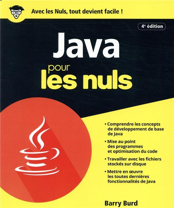 Java pour les nuls (4e édition)