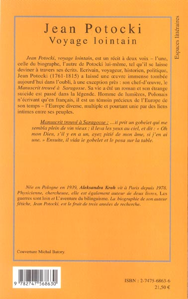 Jean potocki - voyage lointain