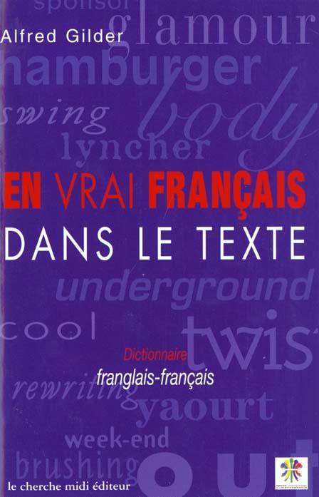 Dictionnaire de la francisation