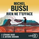 Rien ne t'efface  - Michel BUSSI - Michel Bussi