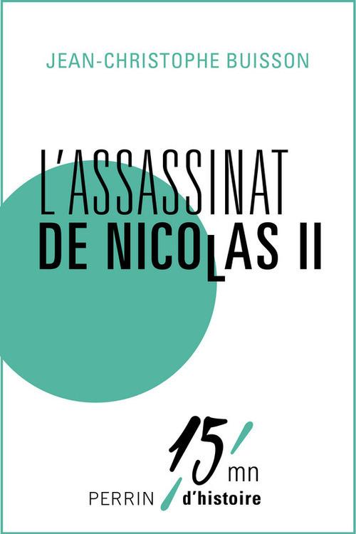 L'assassinat de Nicolas II