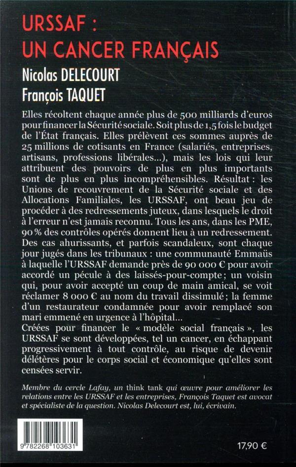 URSSAF : un cancer français