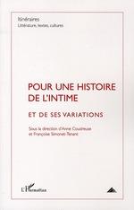 Vente EBooks : Pour une histoire de l'intime  - Françoise Simonet-Tenant - Anne COUDREUSE