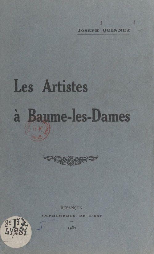 Les artistes à Baume-les-Dames
