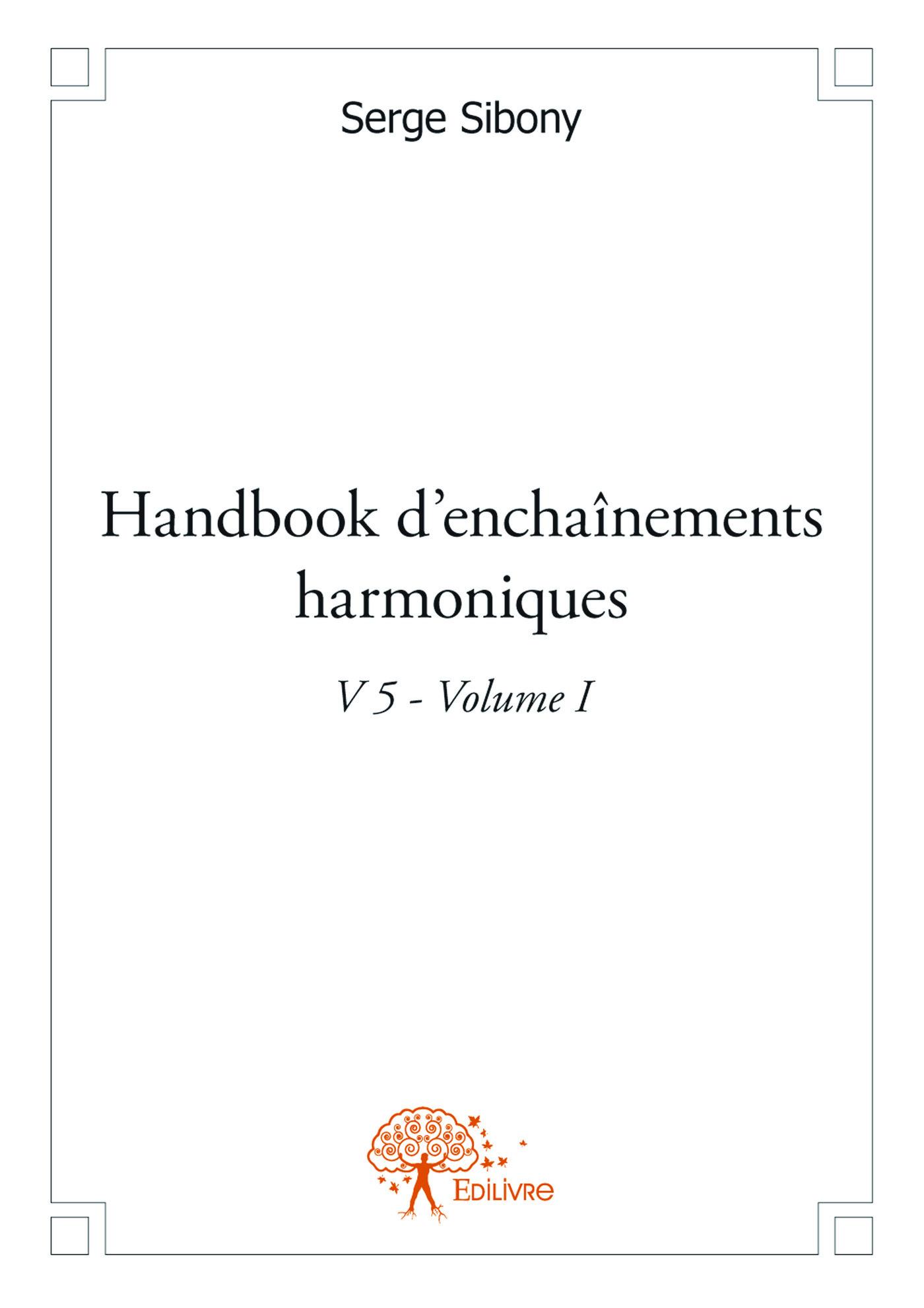 handbook d'enchaînements harmoniques v.5, t.1