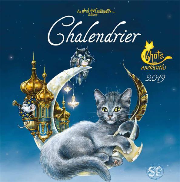 Calendrier les chats enchantés (édition 2019)