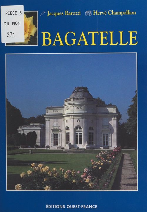 Vente E-Book :                                    Bagatelle - Jacques Barozzi