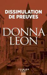 Vente Livre Numérique : Dissimulation de preuves  - Donna Leon