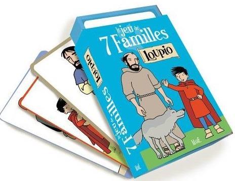 LE JEU DES 7 FAMILLES - LOUPIO
