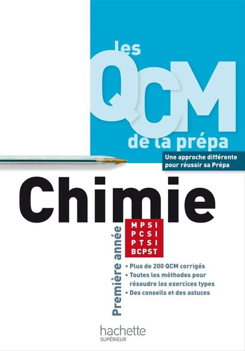 Chimie MPSI/PCSI/PTSI