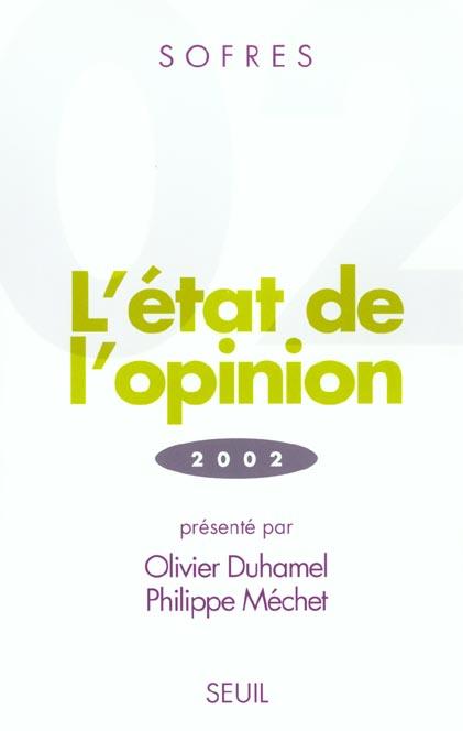 L'etat de l'opinion (2002)