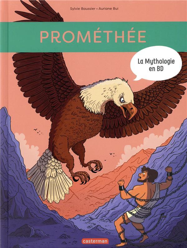 la mythologie en BD ; Prométhée