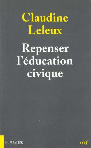 REPENSER L-EDUCATION CIVIQUE.