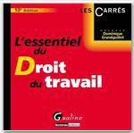 Vente Livre Numérique : L'essentiel du droit du travail - 10e édition  - Dominique Grandguillot