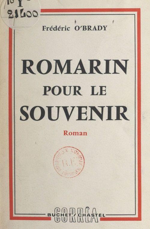 Romarin pour le souvenir