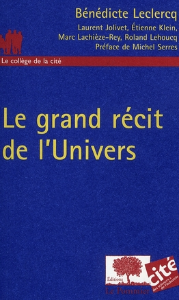 LE GRAND RECIT DE L'UNIVERS