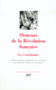 ORATEURS DE LA REVOLUTION FRANCAISE - VOL01 - LES CONSTITUANTS