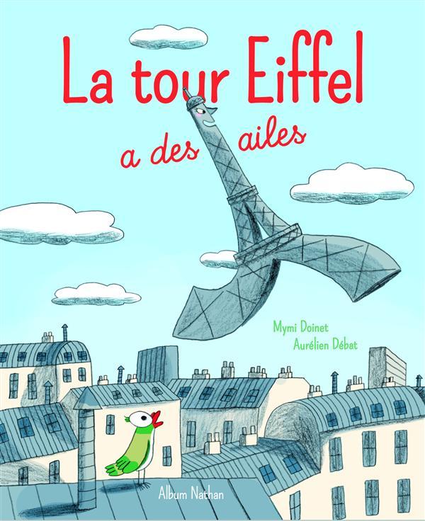 La tour Eiffel a des ailes