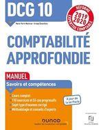 Vente EBooks : DCG 10 Comptabilité approfondie - Manuel  - Marie-Pierre Mairesse - Arnaud Desenfans