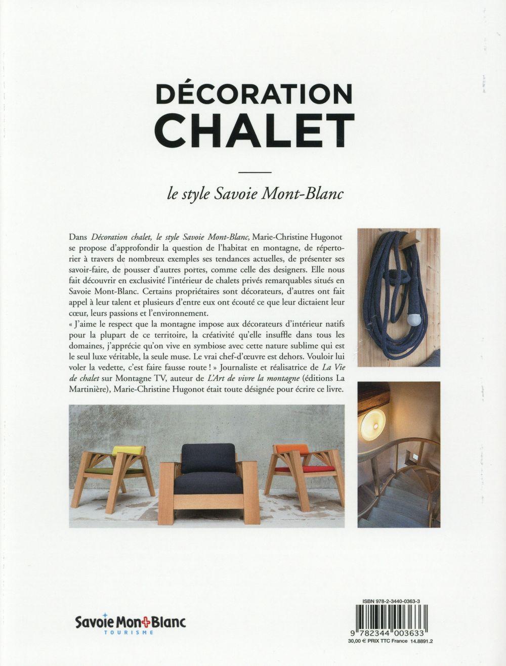 Décoration chalet ; le style Savoie Mont-Blanc