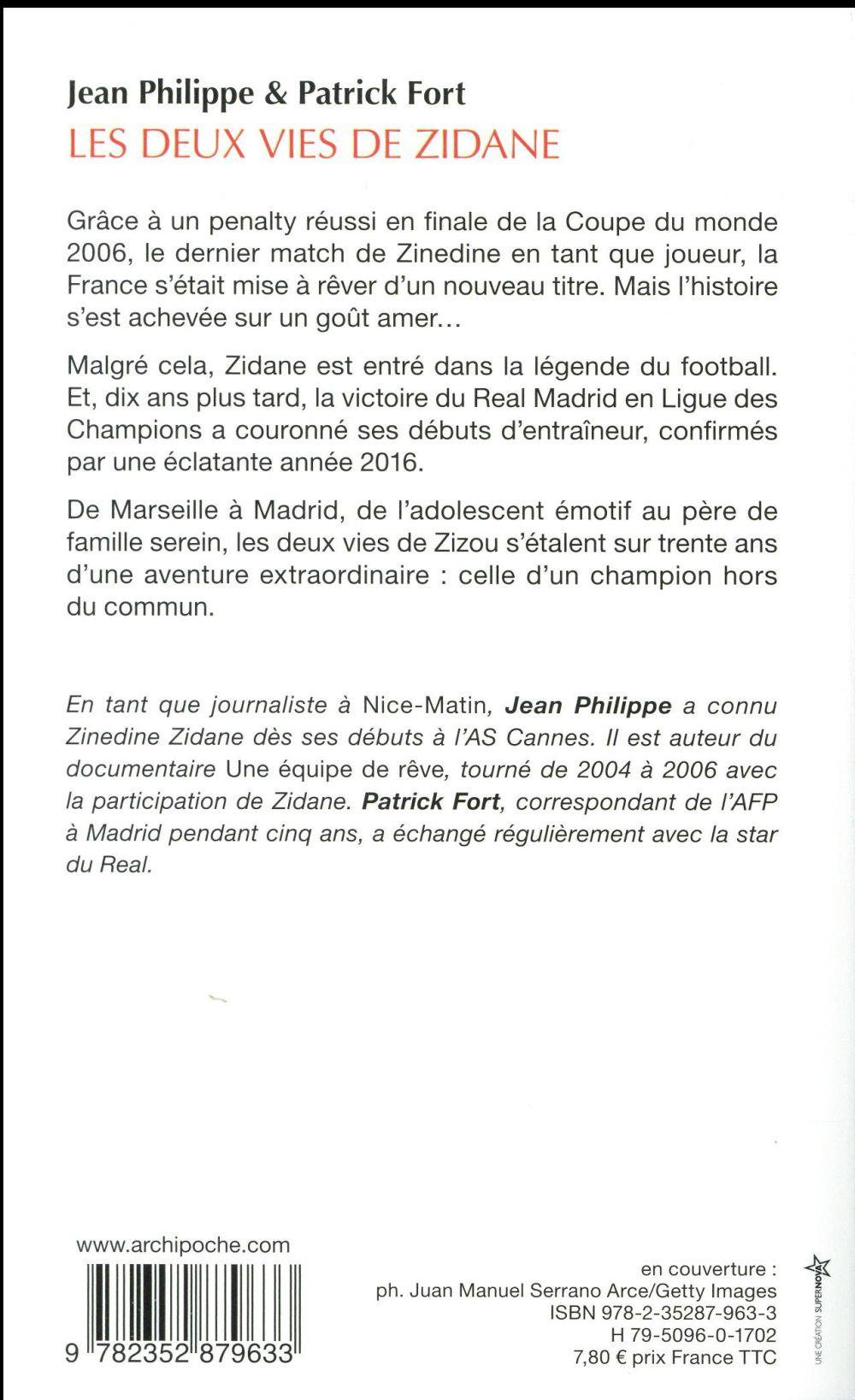 les deux vies de Zidane