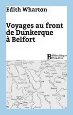 Vente Livre Numérique : Voyages au front de Dunkerque à Belfort  - Edith Wharton