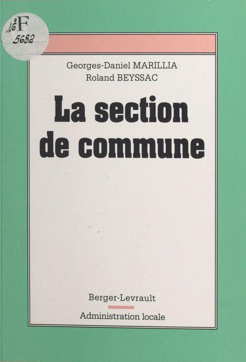 Section de commune