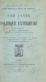 Une année de politique extérieure  - Serge de Chessin - René Moulin