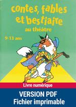 Vente Livre Numérique : Contes, fables et bestiaires au théâtre  - Suzanne Rominger - Brigitte Saussard