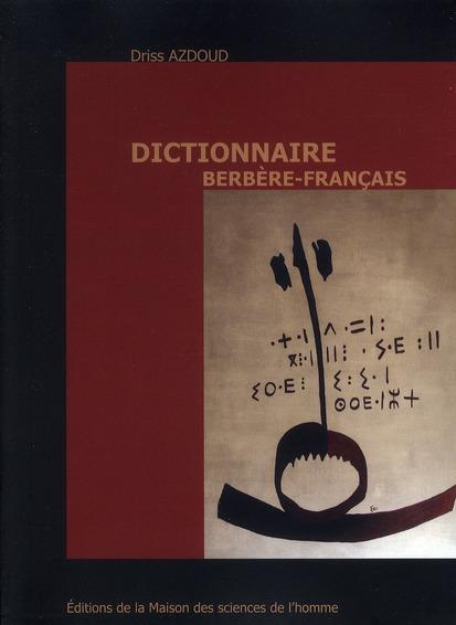Dictionnaire Berbère-Francais