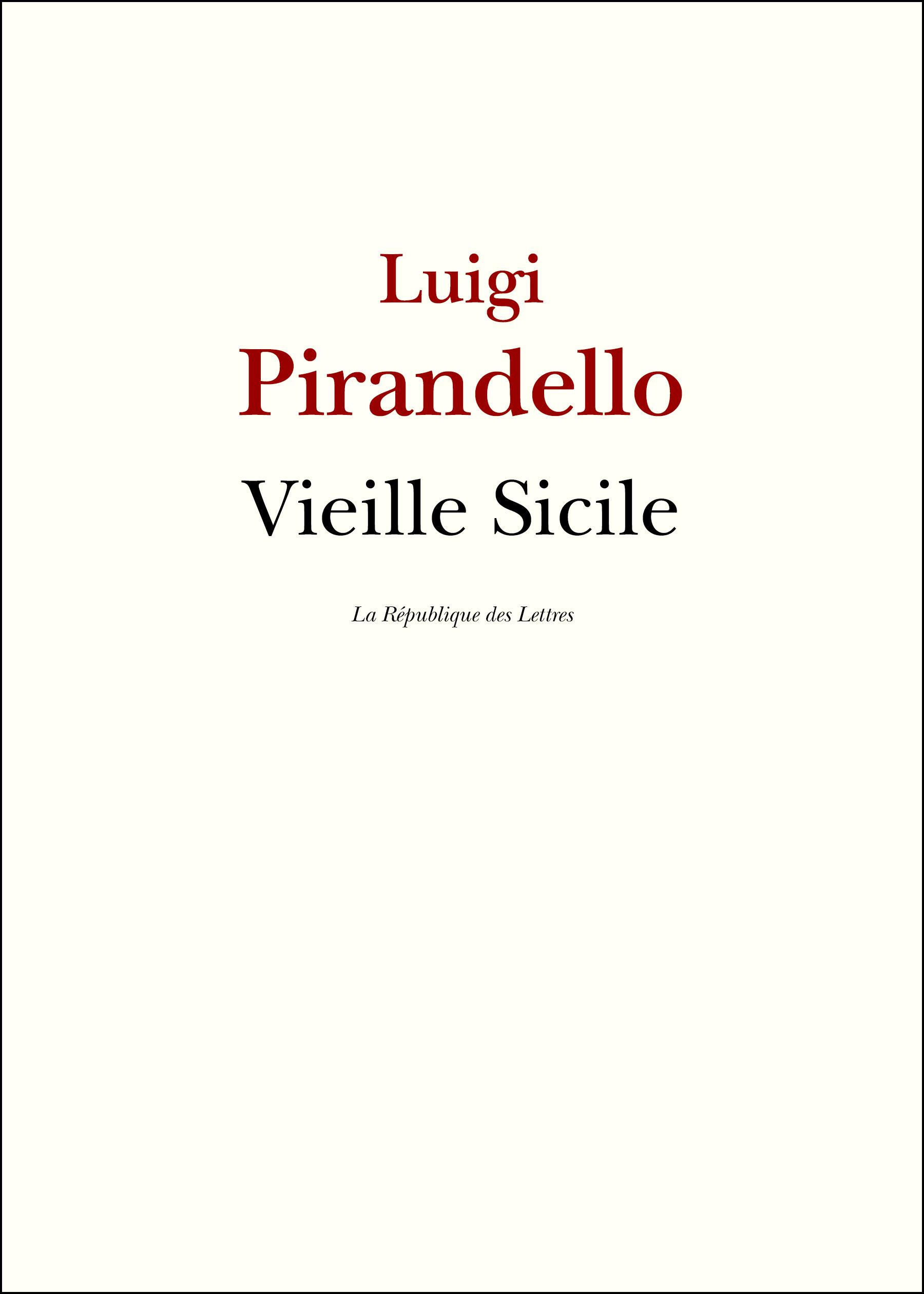 Vieille Sicile