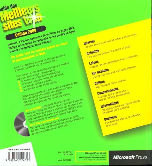 guide des meilleurs sites web edition 2000